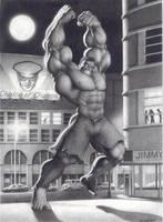 Raging Hulk by JIM-SWEET