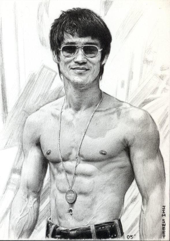 Bruce Lee by JIM-SWEET