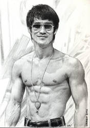 Bruce Lee by JIM-SWEET