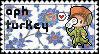 APH Turkey stamp by ymynysol