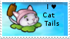 PvZ Stamp: I love Cattails by Shadow-Cipher