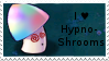 PvZ Stamp: I heart Hypno-Shrooms by Shadow-Cipher