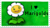 PvZ Stamp: I love Marigolds by Shadow-Cipher
