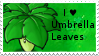 PvZ Stamp: I love Umbrella Leaves by Shadow-Cipher
