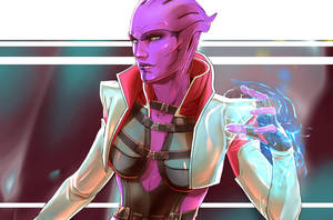 ME - Aria T'loak, color practice by TheSalmonArt