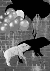 Pigs Will Fly by elirobert