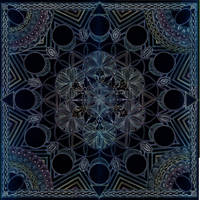 Mandala of Eden Arising - The Mandala for Africa by Lakandiwa