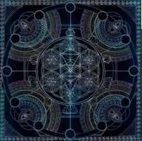 Mandala of Creation's Invocation by Lakandiwa