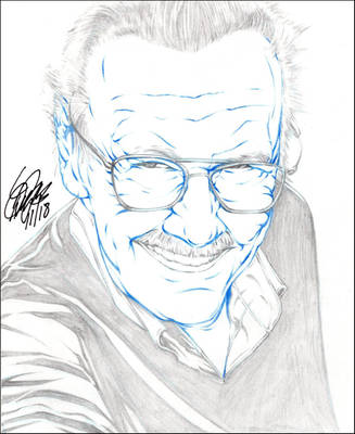 STAN LEE PENCIL by ARTofTROY