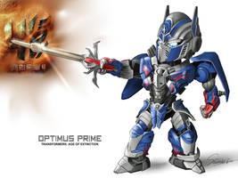 Optimus Prime by Mr-SO