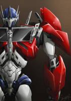 TFP optimus prime by Mr-SO