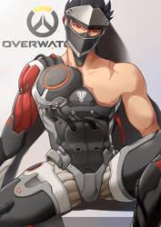 [OW]Blackwatch Genji by Mr-SO