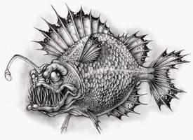 Fantasy Angler fish by Akuma1x