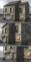 wwII normandy garage by Akuma1x