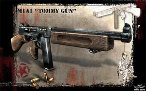 Tommy Gun concept by Akuma1x