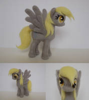 Derpy needle felt by ChloeNArt
