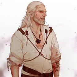 Geralt\CosplayMaul\Ben by WitcheressWoxy