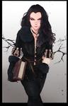 Yennefer\Ash by WitcheressWoxy