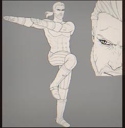 Geralt fusion pose by WitcheressWoxy
