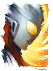 Ultraman Tiga by HolyWiz