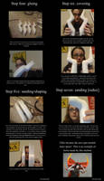 Homestuck Troll Horns Tutorial 2/4 by TwoToned-Jester
