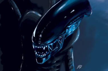 Alien by Ominaye