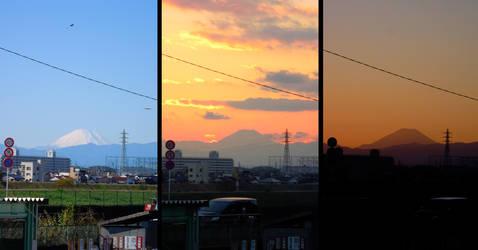 Colors of Fujisan by Scigor
