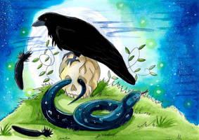 Corbeau by ZeldaPeach