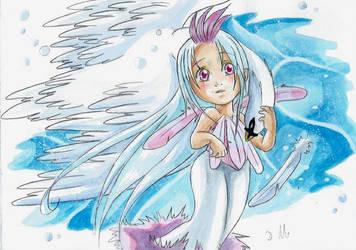 Ange et le Cygne le retour by ZeldaPeach