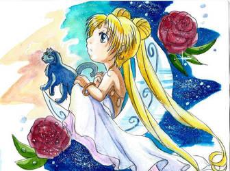 Sailor Moon by ZeldaPeach