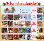 [OPEN] LumenFox Christmas Advent Calendar 2018 by Yoshimiko-Adopts