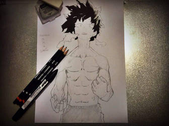 Izuku 'Deku' Midoriya [Boku no Hero Academia] by Zerxes-Ivo