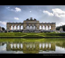 Gloriette, Schonbrunn, Vienna by MarosStefanovic