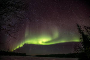 Auroa Borealis - Northern Lights over Muonio, Fin by OH8EFI