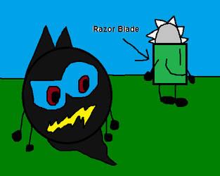 Fazey thinks Razor Blade is corpse by FazeTheEggCarUndead2