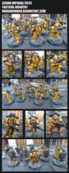 Legion Imperial Fists - Tactical Infantry by VangarShriek