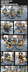 Legion Imperial Fists - Heavy Infantry by VangarShriek