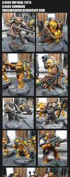 Legion Imperial Fists - Legion Command by VangarShriek