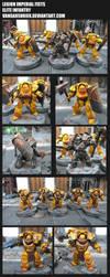 Legion Imperial Fists - Elite Infantry by VangarShriek