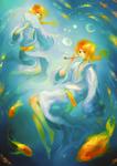 goldfish boys by oranges-lemons
