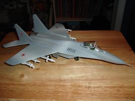 MiG-29 Fulcrum by Russian-Fox