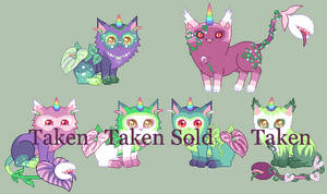 Unicat Breeding AmeliaXBlossom - Closed by Queen-of-Color