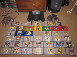 Nintendo 64 Collection by Firestormxx