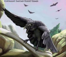 FFG Highlands Carrion Bird by fuuryoku