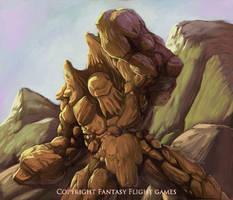 FFG Highlands Earth Elemental by fuuryoku