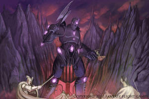 Talisman Ebony Sentinel by fuuryoku