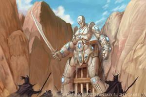 Talisman Ivory Sentinel by fuuryoku