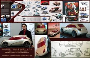 Toyota SC-UV concept by sk8nrail