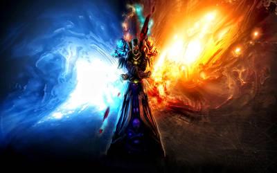 Warcraft Undead Mage by theTelekinesis