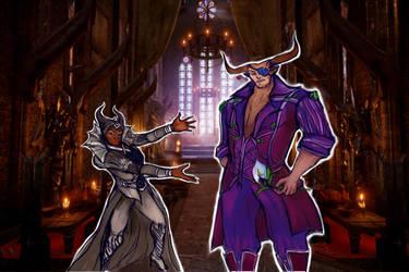 Fashion is my profession - Viv and Bull by Irida-Iris